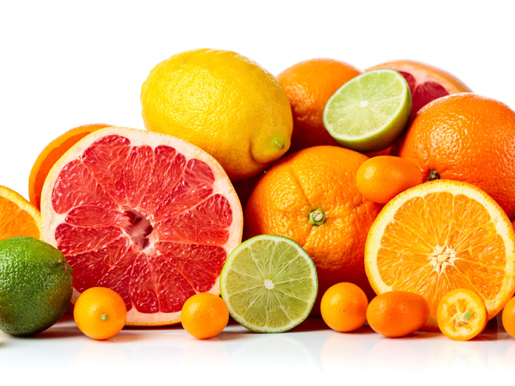 Foods to Stop and Reduce Hair Loss/Hair Fall-citrus fruits