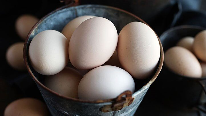 Foods to Stop and Reduce Hair Loss/Hair Fall-eggs