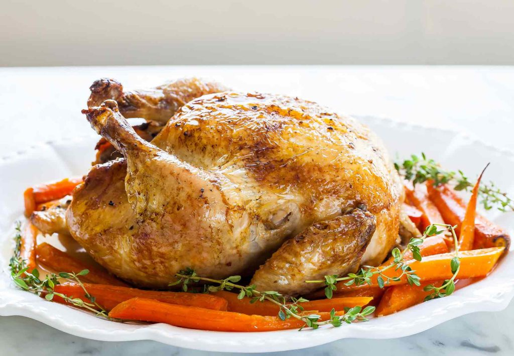 Foods to Stop and Reduce Hair Loss/Hair Fall-chicken