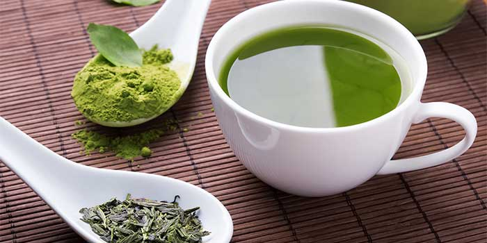 green tea for anti ageing
