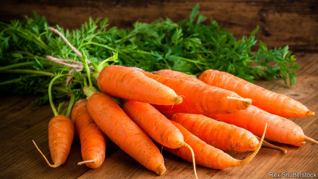 carrots to combat wrinkles