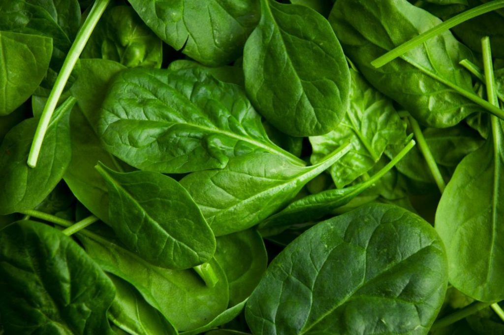 spinach for anti ageing
