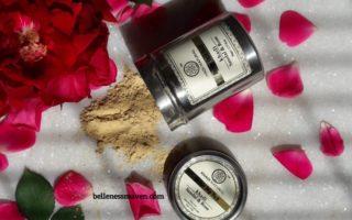khadi natural sandal and rose face pack review
