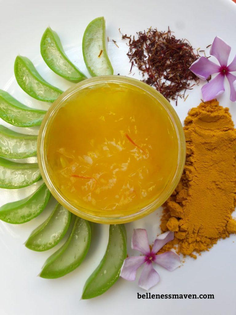 the basic organics saffron gel review