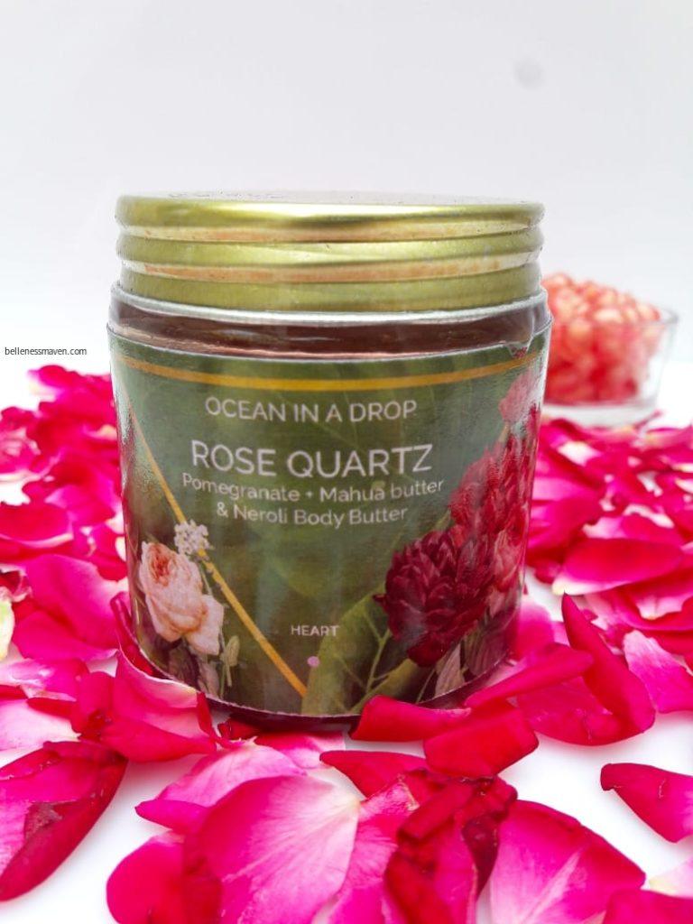 Rose Quartz Body Butter by Ocean In a Drop