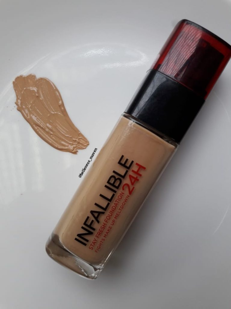 L'Oréal Infallible Foundation Review