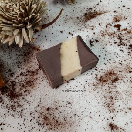 Miva Naturals Coffee Toffee Soap bar