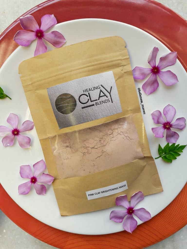 Healing Clay Blends Pink Clay Brightening Mask
