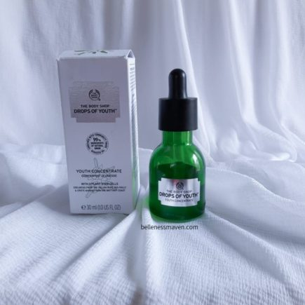 The Body Shop Drops of Youth Concentrate Review