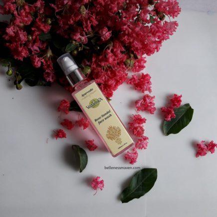 Vedantika Herbals Rose Sandal Face Wash Review