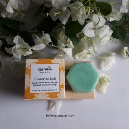 Earth Rhythm Anti Dandruff Shampoo Bar Review