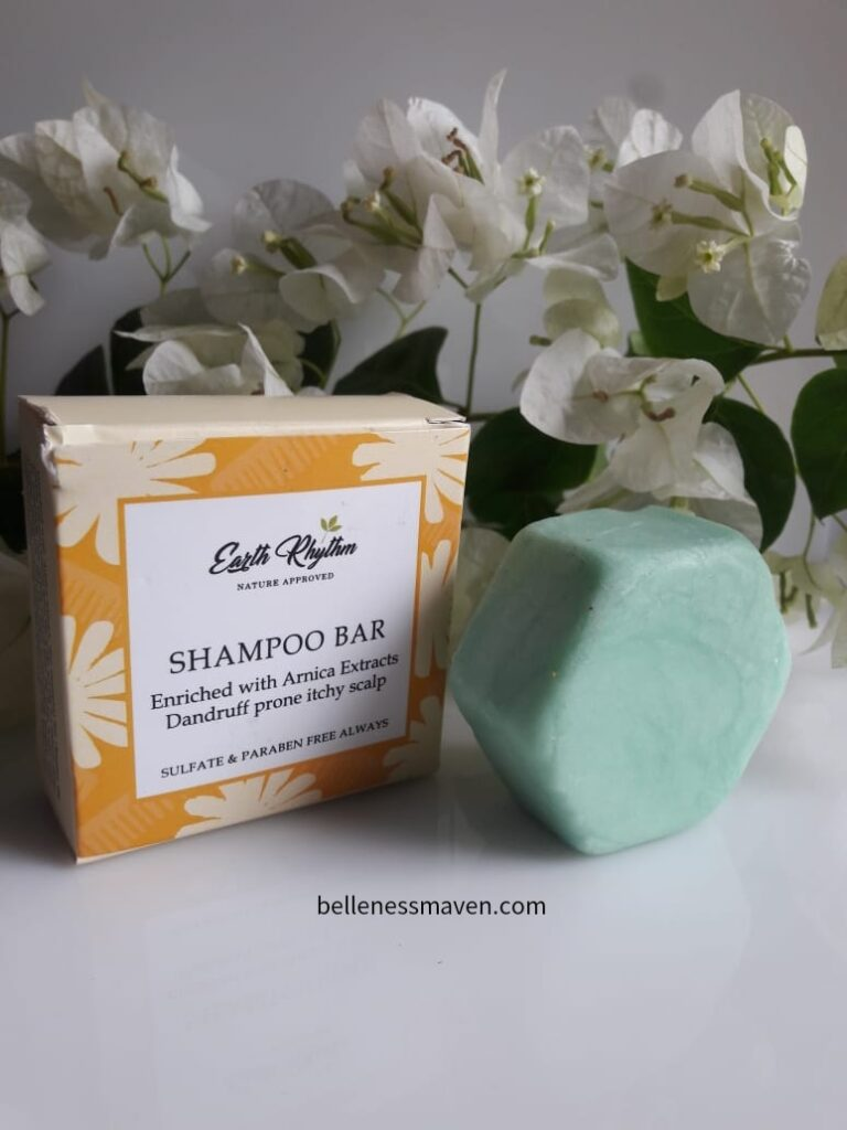 Earth Rhythm Anti Dandruff Shampoo Bar Review
