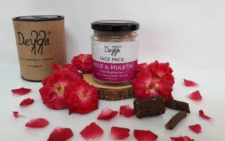 Deyga Rose & Mulethi Skin Brightening Face Pack Review