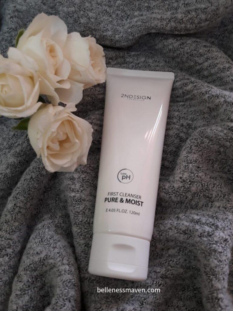 2NDESIGN First Cleanser Pure & Moist Review