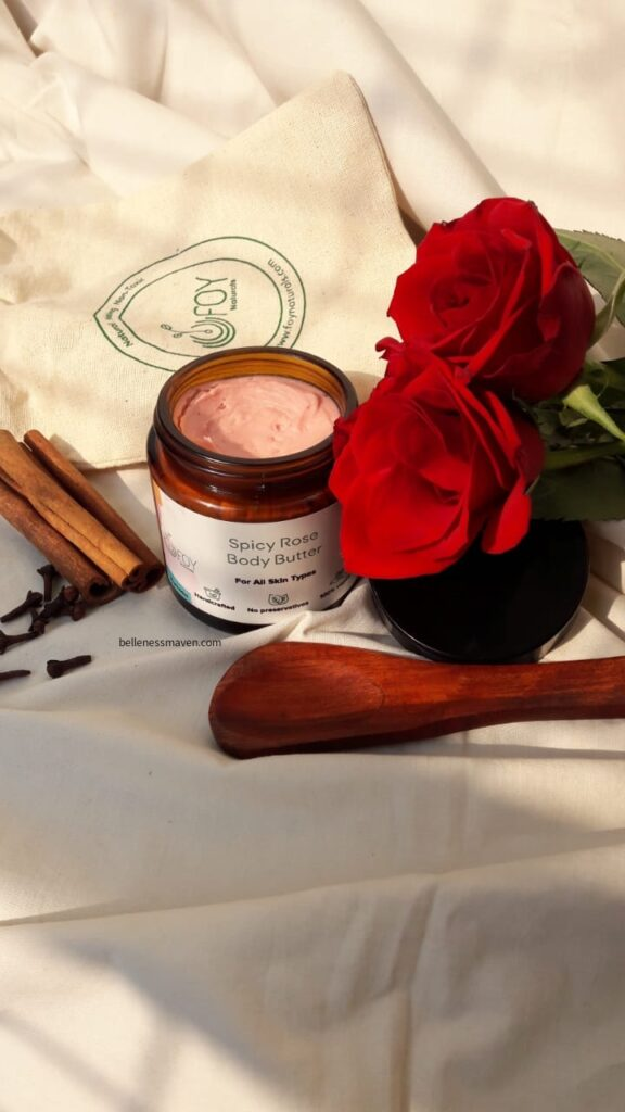 Foy Naturals Spicy Rose Body Butter Review