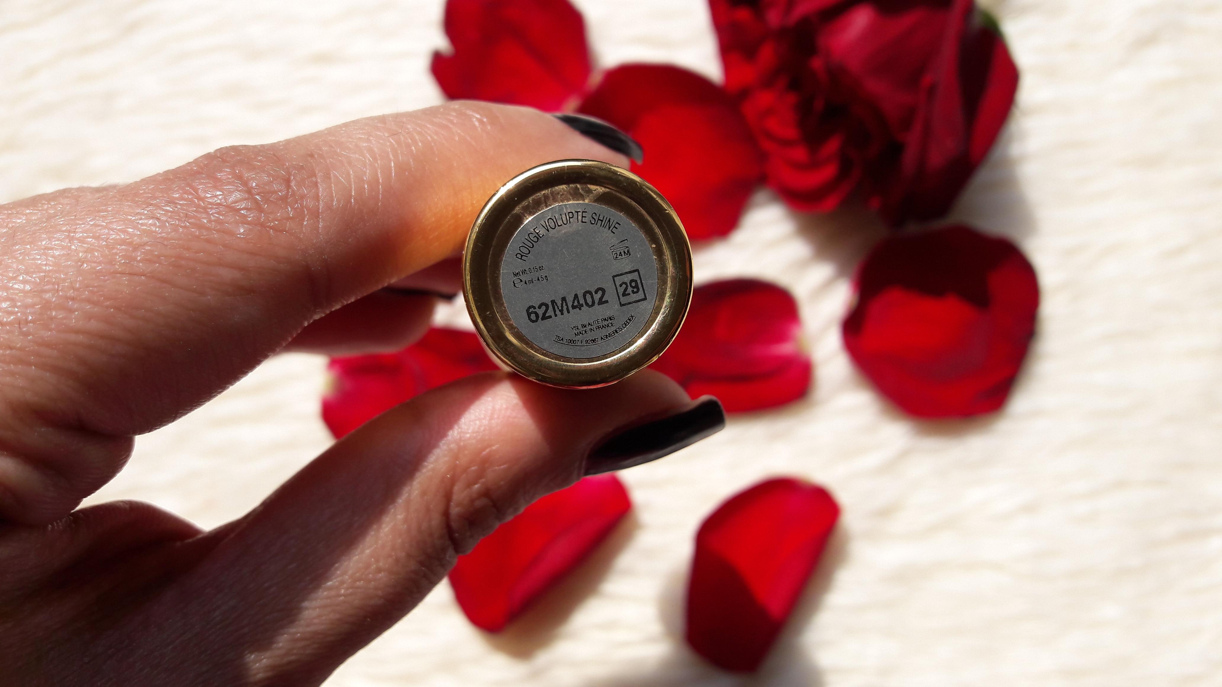 YSL Rouge Volupte Shine Lipstick Review