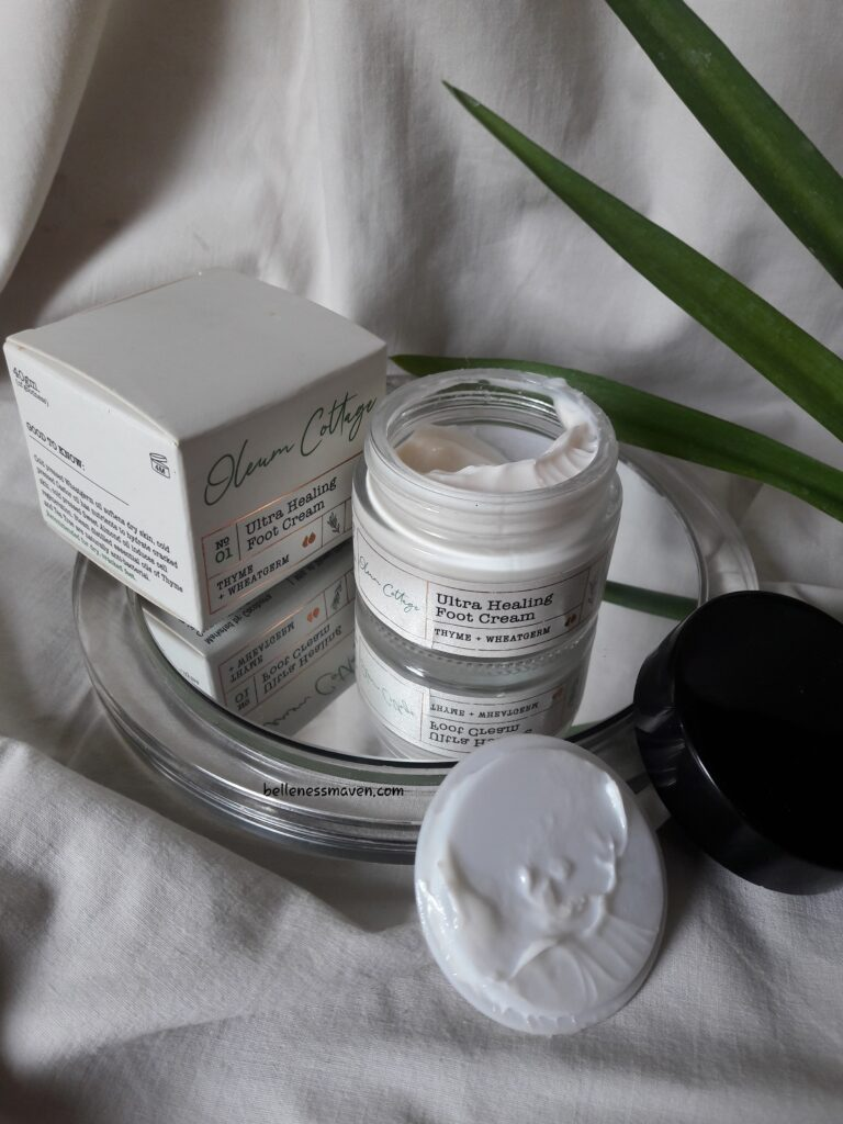 Oleum Cottage Ultra Healing Foot Cream Review