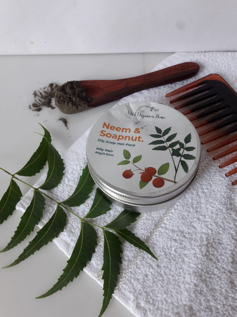 Wild Organica Home Neem & Soapnut Hair Mask Review