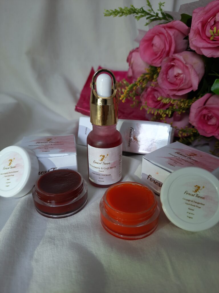 Forest Trove Lip & Cheek Tints Review