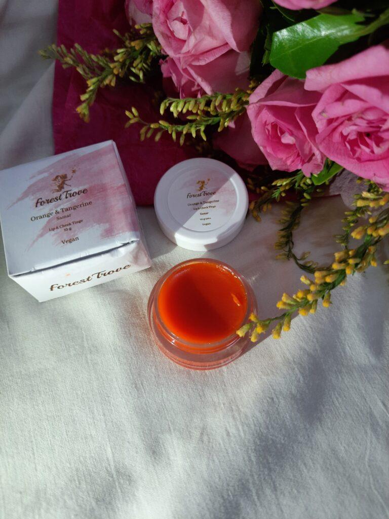 Forest Trove Lip & Cheek Tint Orange and Tangerine Samar