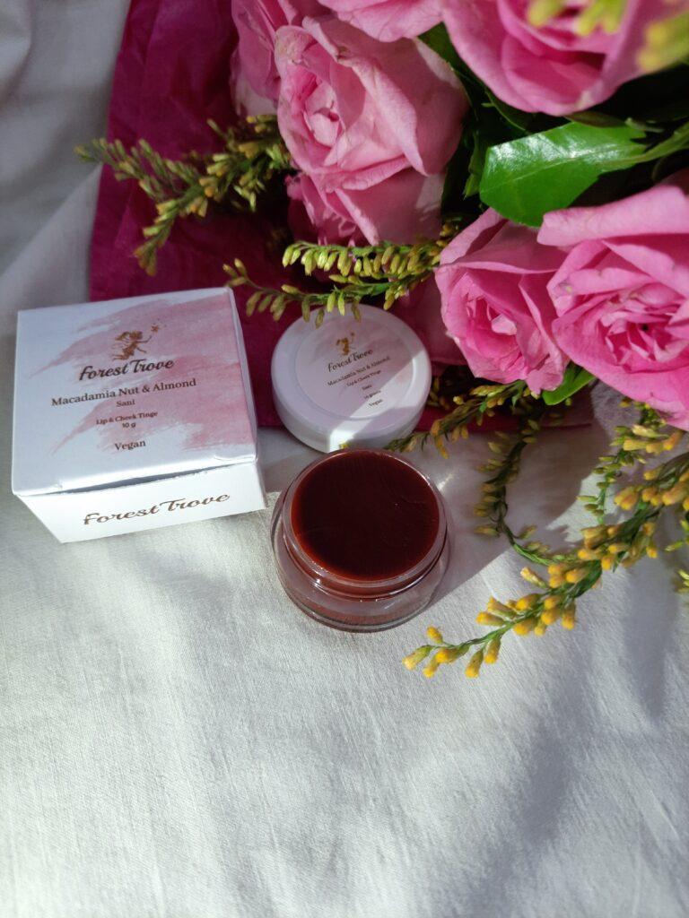 Forest Trove Lip & Cheek Tint Macadamia & Almond Sani